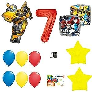Amazon.com: Transformers - Globo de fiesta de tercer ...