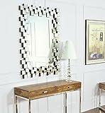 - DECORARTE - Espejos Modernos Cristal - Rectangular Cristal (120x86)