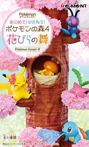 Re-Ment Pile Up Pokemon Forest Vol. 4 Petal Dance Full Box Set of 6