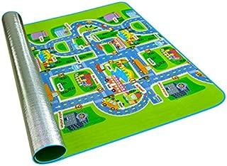 SODIAL Baby Play Mat Toys for Children's Mat Kids Rug Playmat Developing Mat PE Cotton Puzzles Foam Play Nursery 200cmx160cmx5mm