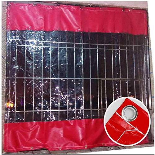 N\A ZHANGQINGXIU Lonas Impermeables Exterior,Lona Lona Impermeable, Panel De Cortina Impermeable para Balcón con Ojales para Tela De Plástico De Partición Antivaho Exterior, Personalizable