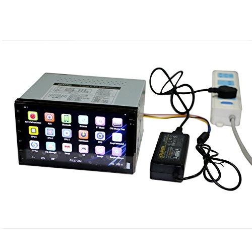 ATOTO AC-10V2 Adattatore di alimentazione, trasformatori, alimentatore per stereo per auto Android serie ATOTO A6Y (A6Yxxxx), uscita 12V DC, massimo 3A