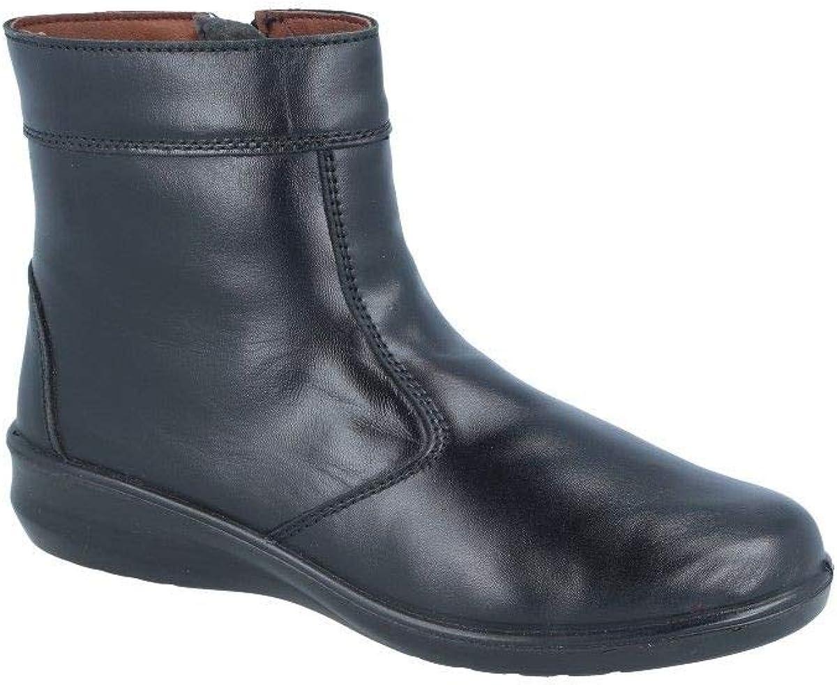 Botines de Piel de Mujer l/ínea Profesional LUISETTI Zapato Bota Confort Lady 0352