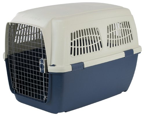 Marchioro Clipper Cayman 6 Pet Carrier, 36.5-inches, Tan/Blue