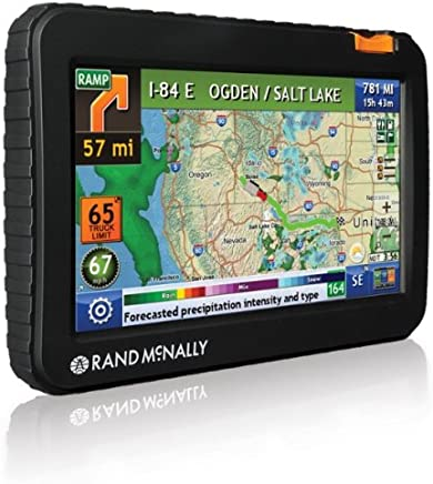Rand McNally TND 720 LM IntelliRoute Truck GPS with Lifetime Maps (Discontinued by Manufacturer)