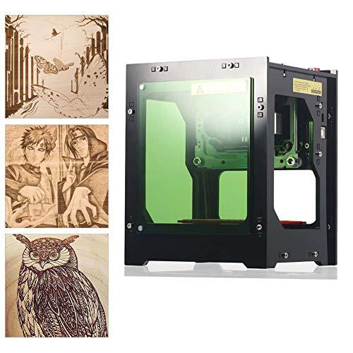 Zetiling Laser Engraving of Engraving Printer, lasergraveermachine 550 x 550 pixel-hoge resolutie voor PC-oplage-telefoon (1500mW)