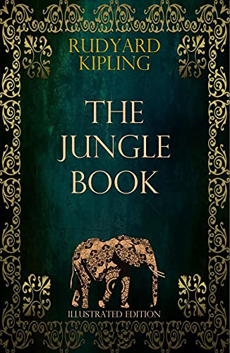 The Jungle Book by Rudyard Kipling illustrated edition (English Edition)