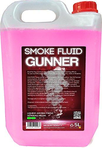 Liquido per macchina da fumo media densita Aroma a FRAGOLA