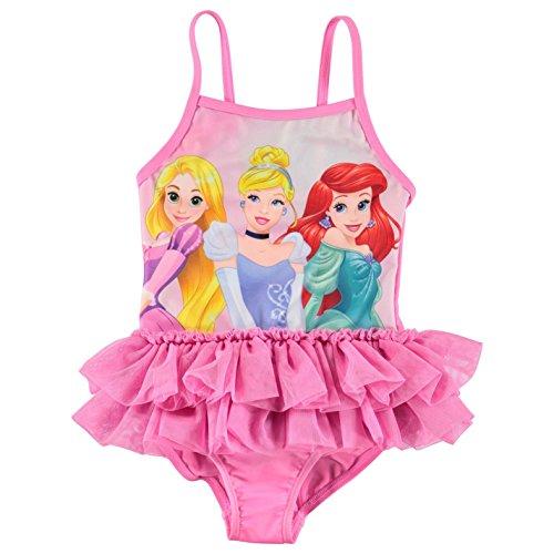 Character - costume da bagno intero da bambina, con stampa Principesse Disney 3-4 Anni