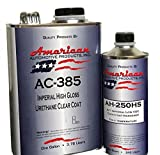 AC-385HS Automotive 2K Urethane Clear Coat Gallon Clearcoat Kit Fast Activator