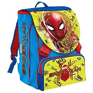 51Nqe0YcqML. SS300  - Seven Zaino Sdopp.big Spider-man Movie Legendary Mochila infantil 41 centimeters 28 Multicolor (Blu e Rosso)