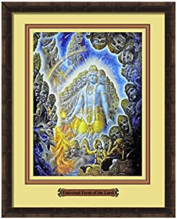 Elegant Arts & Frames Gopal Krishna Multicolour Print 14 x 11 Photo Frame