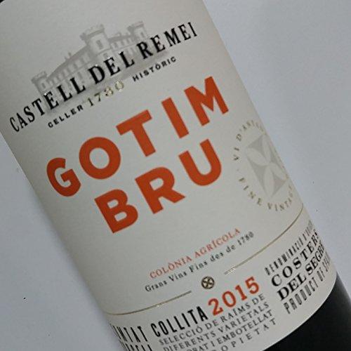 GOTIM BRU Vino Tinto - D.O. Costers del Segre (6 Botellas de 75 CL)