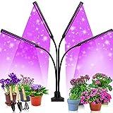 Etship LED Pflanzenlampe, 40W Pflanzenlicht Pflanzenleuchte Wachstumslampe, 80 Leds Grow Lampe Vollspektrum Wachsen Licht...