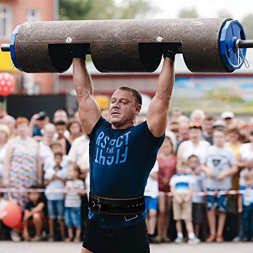 RDX Gym Leder Gewichthebergürtel Training Fitness Gürtel Dips Dreikampfgürtel - 4