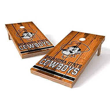 PROLINE NCAA College 2' x 4' Oklahoma State Cowboys Cornhole Board Set - Vintage