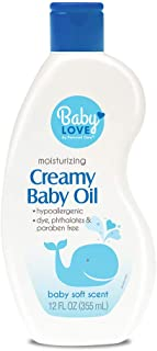 Personal Care Soft & Soothing Baby Oil, 12 Ounce