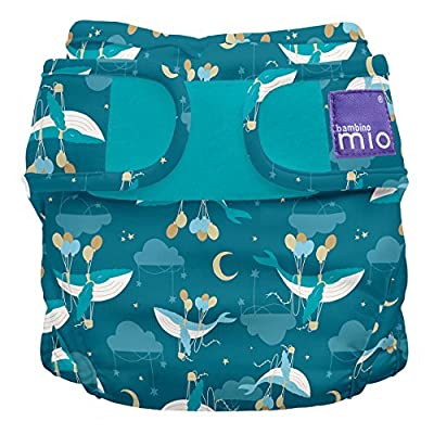 Bambino Mio, Miosoft Cloth Diaper Cover, Sail Away, Size 1 (<21lbs)