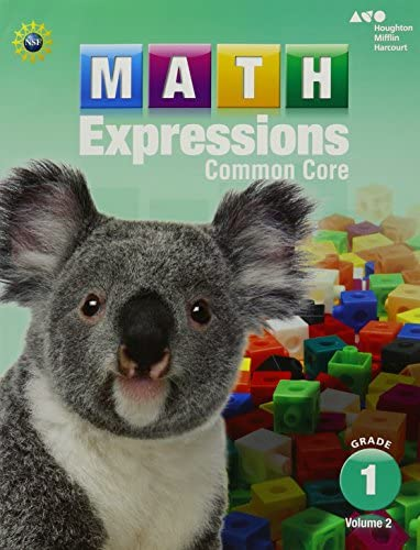 Student Activity Book Volume 2 Softcover Grade 1 Math Expressions product image