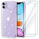 YIRSUR Case compatible with iPhone 11 (glitter)