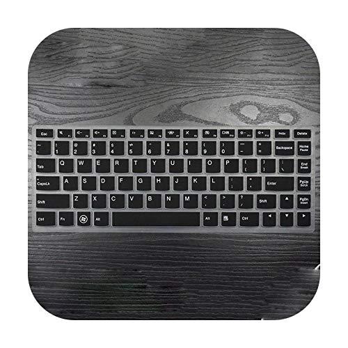 Protector de teclado de silicona para Lenovo Yoga 900 YOGA4 PRO YOGA900-13ISK YOGA 4 Pro 3 ideapad 700S 13/13,3 pulgadas, color negro