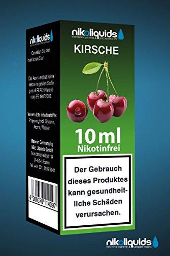 Nikoliquids Kirsche 10ml 0mg