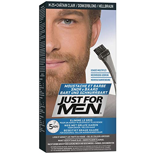 Just For Men - Tinte de barba y bigote para hombre, color