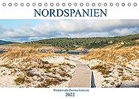Nordspanien - Wundervolle Provinz Galicien (Tischkalender 2022 DIN A5 quer): Der Kalender zeigt Ihnen wunderschoene Naturlandschaften, Straende aber auch historische Bauten, denn all das bietet Ihnen die nordspanische Provinz Galicien. (Monatskalender, 14 Seiten )