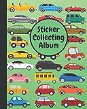 Sticker Collecting Album: Blank Sticker Book for Collecting Stickers | Sticker Book for Kids, Children, Boys & Girls with Sticker Collecting Album ... - Cars Cover (Sticker Albums for Kids)