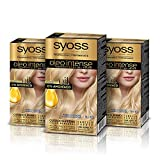 Syoss Oleo Intense - Tono 9-10 Rubio Luminoso (Pack De 3) �