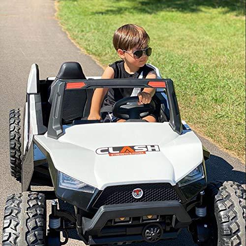 UTV White Adjustable SEAT 4X4 Sport Edition 2 Seater 24VOLTS...