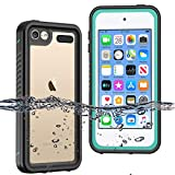 BESINPO Waterproof iPod Touch Case for iPod Touch 7 Case, iPod Touch 6 Touch 5 Case, Full Body Built-in Screen Protector Shockproof Dustproof Anti-Scratch Case for iPod Touch 7th/6th/5th Generation