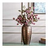 Qiutianchen Store Pottery - Macetas de cerámica para encimera, jarrón de cerámica, diseño de flores