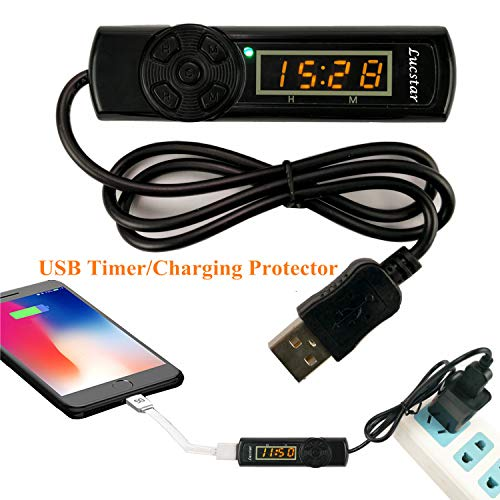 USB Timer Switch Temperature Adjustment Extension Cord for USB Heated Mouse Pad