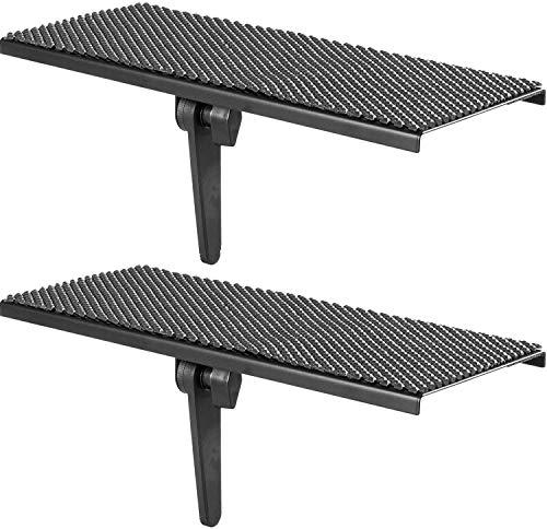 Our #1 Pick is the Wali TV 12-inch Flat Panel Mount Speaker Shelf