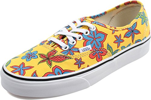 Vans Classic Authentic Freshness floral Yellow, Groesse:38.5 EU / 08.0 US / 05.5 UK