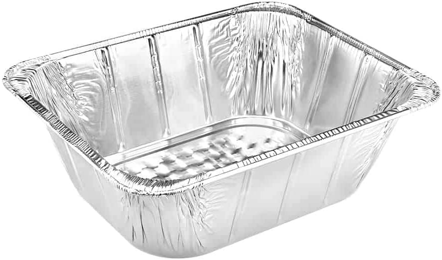 Max 78% OFF Kingzak Disposable Aluminum Foil Half Bombing free shipping Pan Deep 12.67
