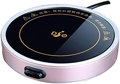 USB ホットコースター 卓上 カップヒーター マグカップ ウォーマー usbドリンク 保温 牛乳/飲み物 温める/コーヒー/紅茶/オフィス/家庭用 日本語説明書