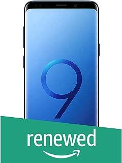 (Renewed) Samsung Galaxy S9 Plus (Coral Blue, 6GB RAM, 64GB Storage)