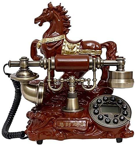 SQL Multifuncional teléfono fijo DYB Vintage teléfono con nueva réplica antigua línea fija máquina oro moda 60s clásico