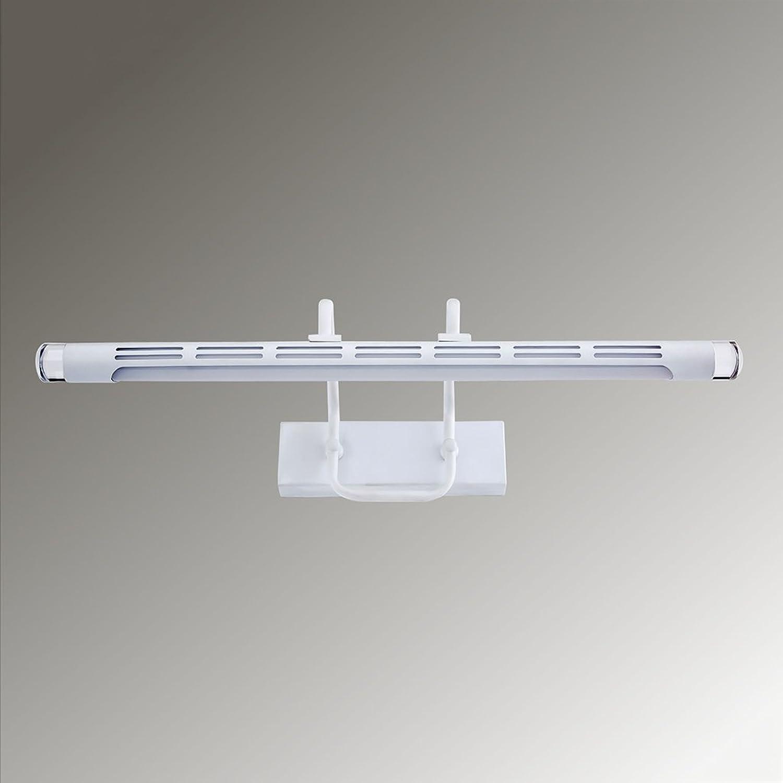 Beleuchtung LED-Spiegel-Scheinwerfer, Spiegel-Lack-Wand-Lichter-Verfassungs-Lichter Retro- wasserdichte Anti-fog Fenster-Spiegel-Lichter ( Farbe   Weies Licht-7w53196cm )