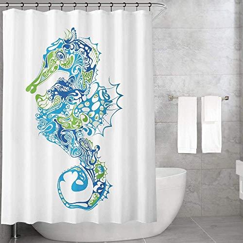 Bonamaison Duschvorhänge, Polyester, Mehrfarbig, 150x200