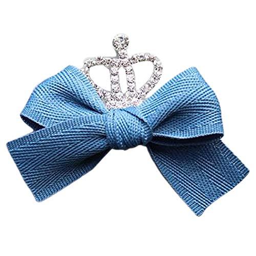 Zoylink Kinder Haarschleife Haarspange Dekorative Krone Schöne Haarspange für Mädchen