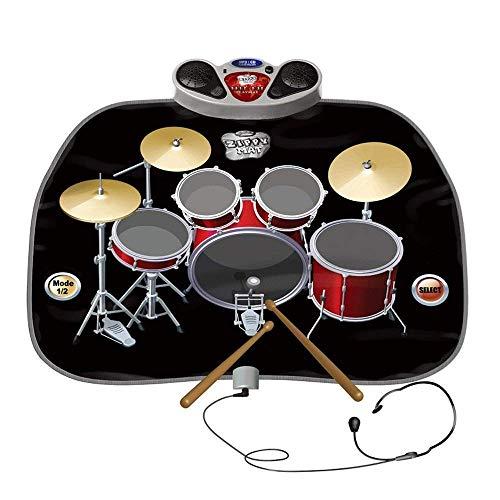 Lzour Juego de Kit de batería de Juguete de Juego Musical eléctrico...