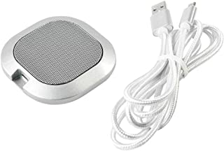 ZWsj King -40dB Table Plug And Play Home Office Interview Meeting Room Omnidirectional Microphone USB Desktop Computer Vid...
