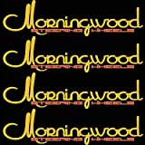 Morningwood 4 Piece Sticker Vinyl Decal Logo Stickerbomb for Car/Trunk/Hood for Dodge Ram 1500