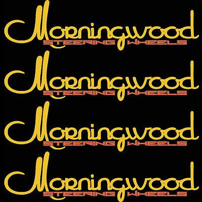 Morningwood 4 Piece Sticker Vinyl Decal Logo Stickerbomb for Car/Trunk/Hood for Jeep CJ7