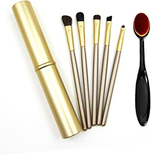 Unicra Makeup Blender Beauty Foundation Eye Brush Applicator for Women and Girls one size Gold