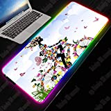 Best Bicycle Computers - Mouse Pads Anime Art Bicycle Butterfly Gaming RGB Review