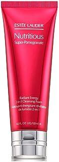 Estee Lauder Nutritious Super-Pomegranate Radiant Energy 2-In-1 Cleansing Foam, 4.2 oz, Full Size